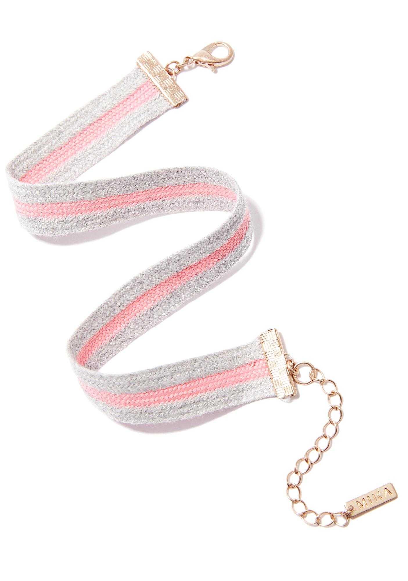 Cutie Champ Fabric Choker