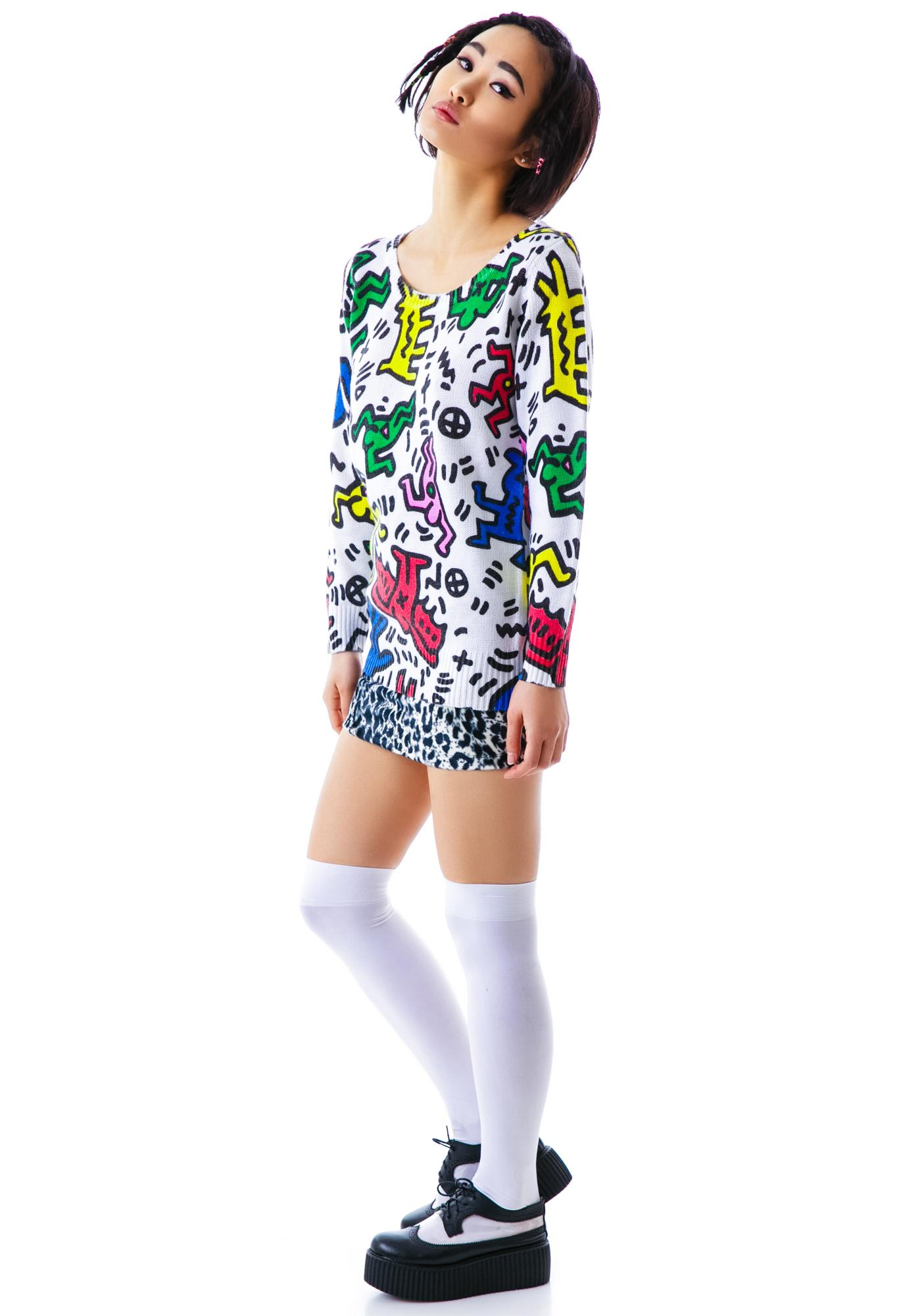 Joyrich Man & Dog Knit Crew