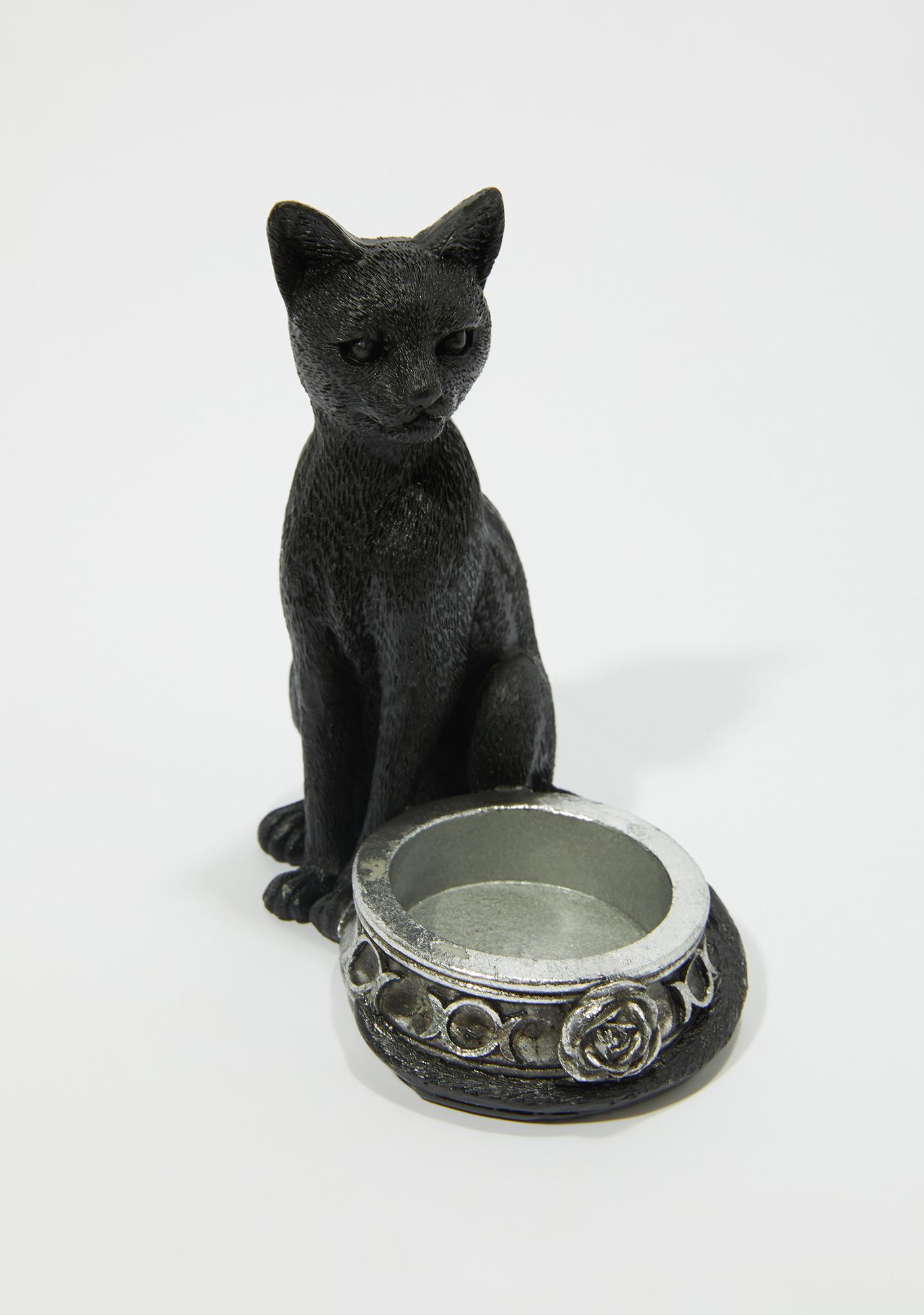 Alchemy England Black Cat Tea Light