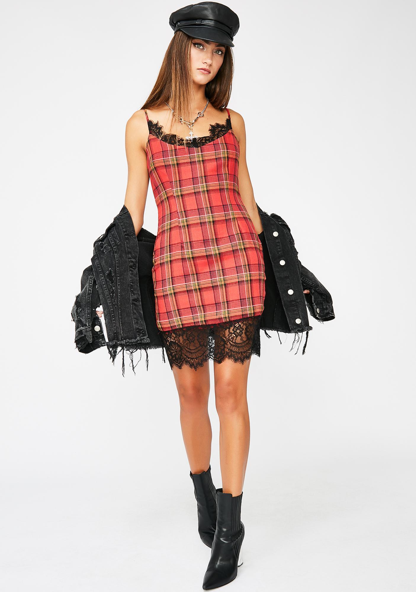 Play Dirty Slip Dress