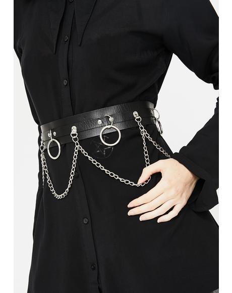 Heathen Goddess O-Ring Belt