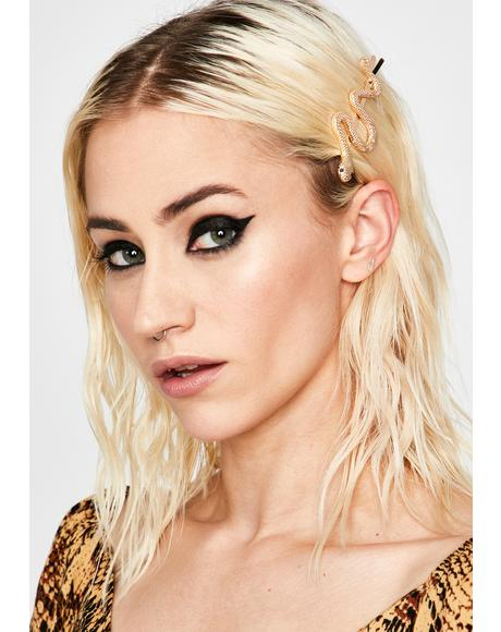 Grave Glam Hair Clip