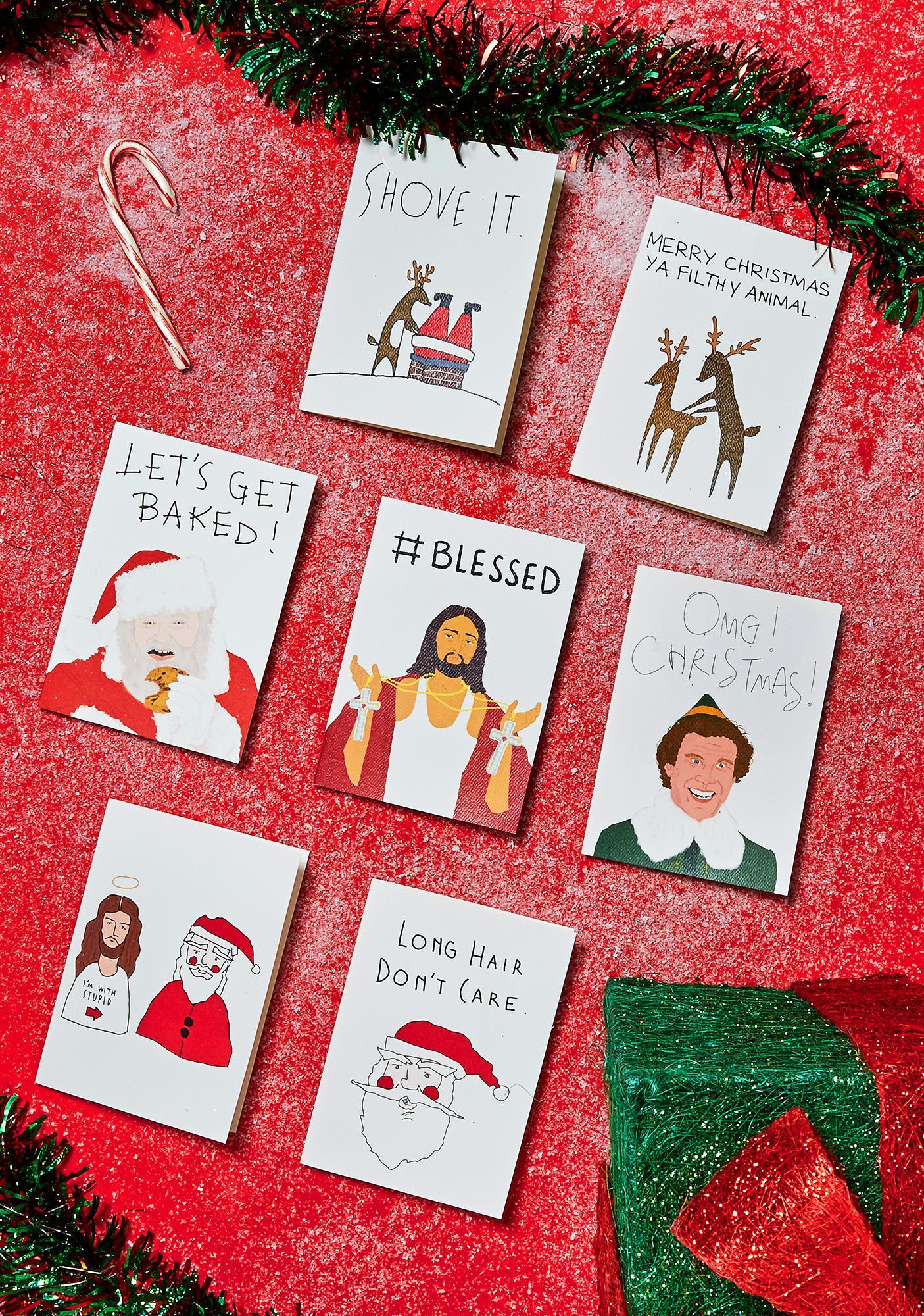 Buddy Christmas Card