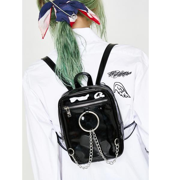 Current Mood Mercy Street Patent Backpack