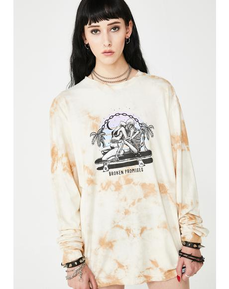 Hang Twenty Tie Dye Long Sleeve Tee