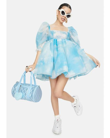 The Organza Clouds Puff Dress