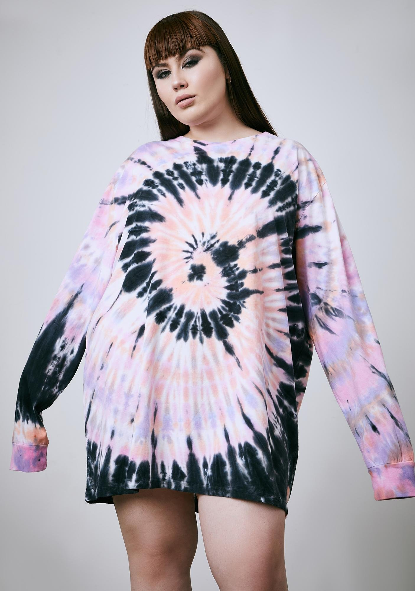 Current Mood I'm Dizzy In My Head Tie Dye Tee