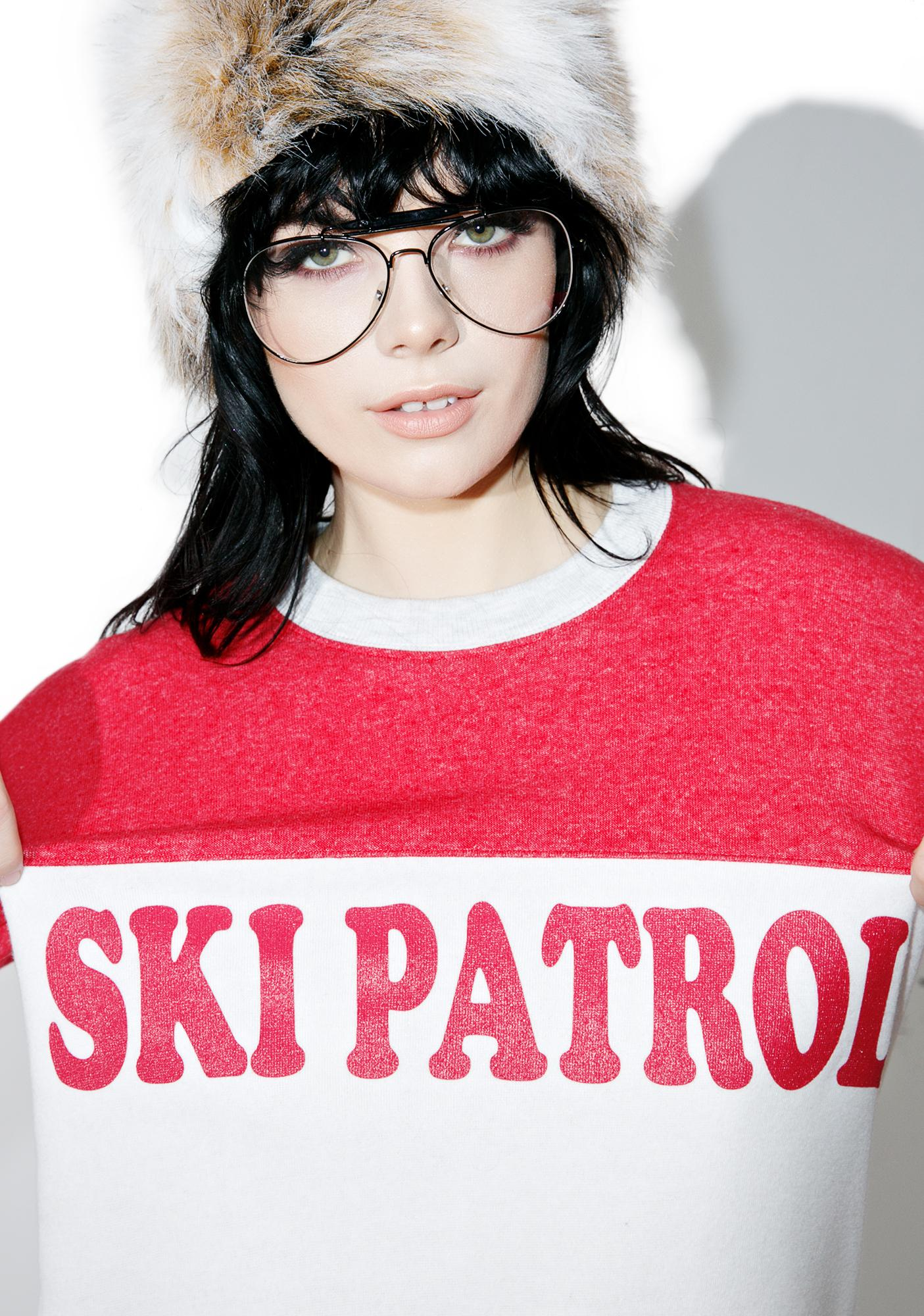 Camp Collection Ski Patrol Cooper Sweatshirt