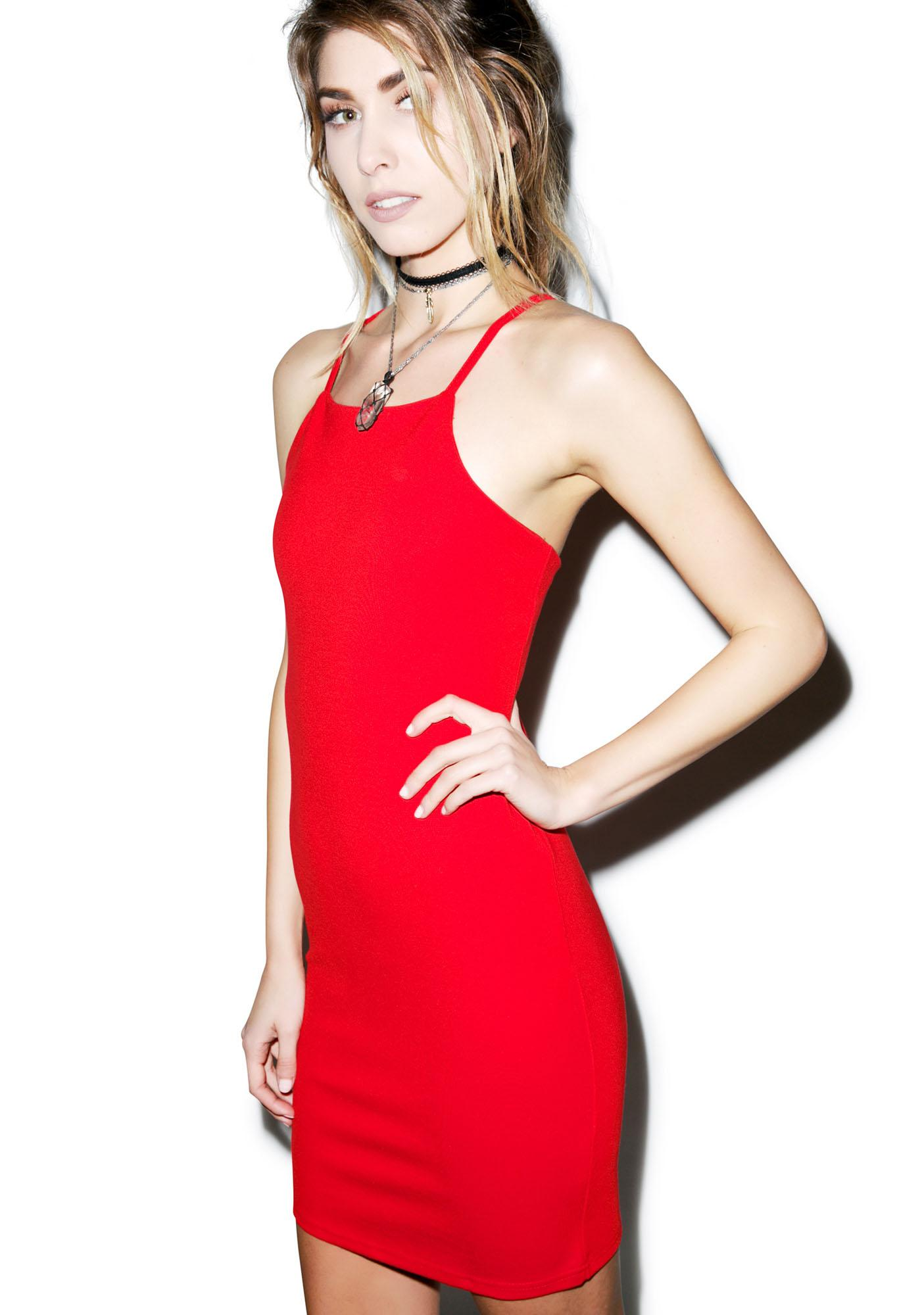 Glamorous Strappin' Out Bodycon Dress
