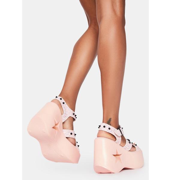Demonia Star Siren Platform Sandals