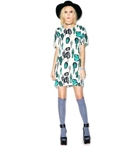 Motel Josephine Cactus Dress