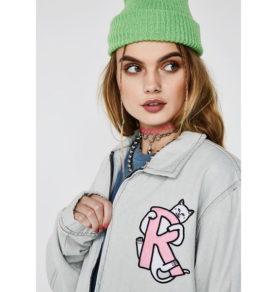 RIPNDIP Hugger Denim Jacket