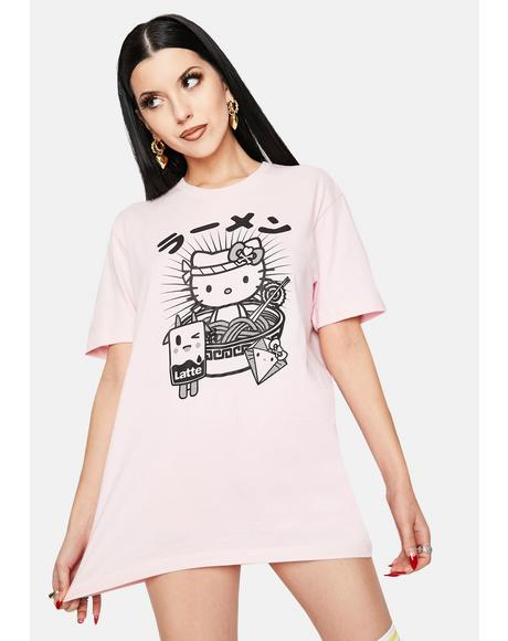 Hello Noodles Graphic Tee