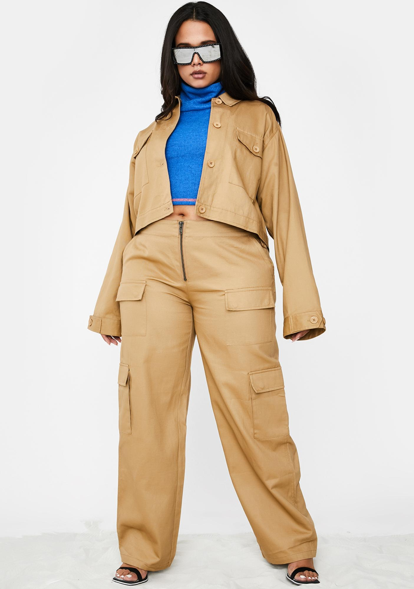 Poster Grl Booked Meetings On Rodeo Utility Jacket