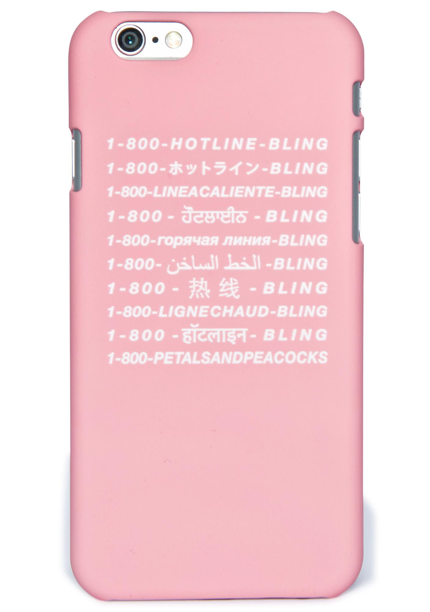 Petals and Peacocks Int'l Hotline iPhone 6 Case