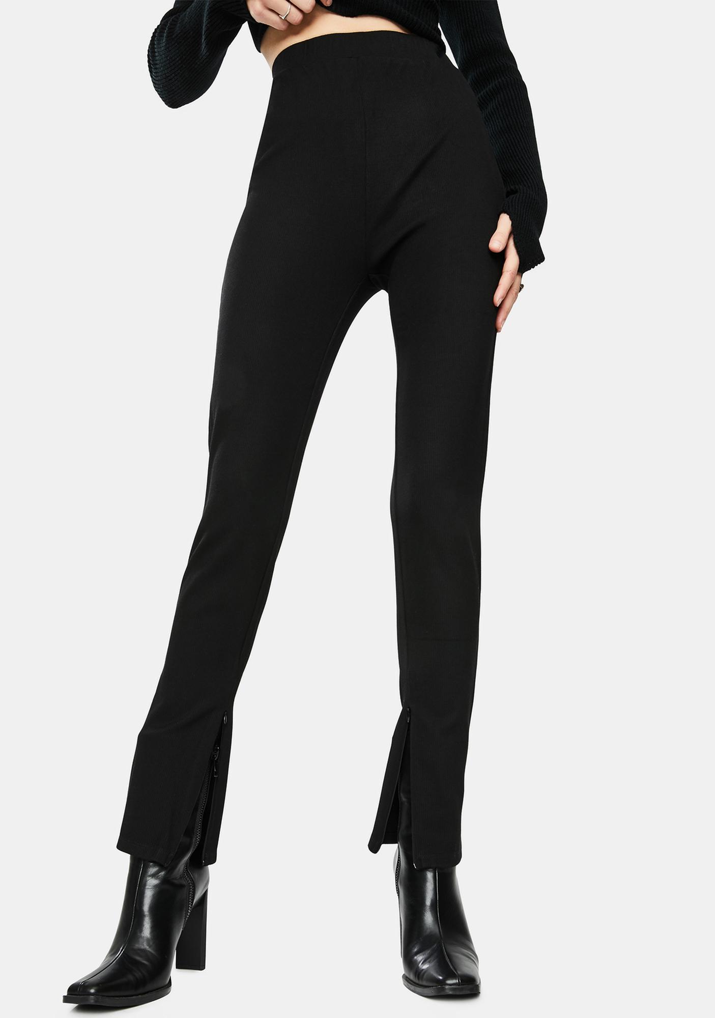 Bailey Rose Bottom Slit Comfy Pants