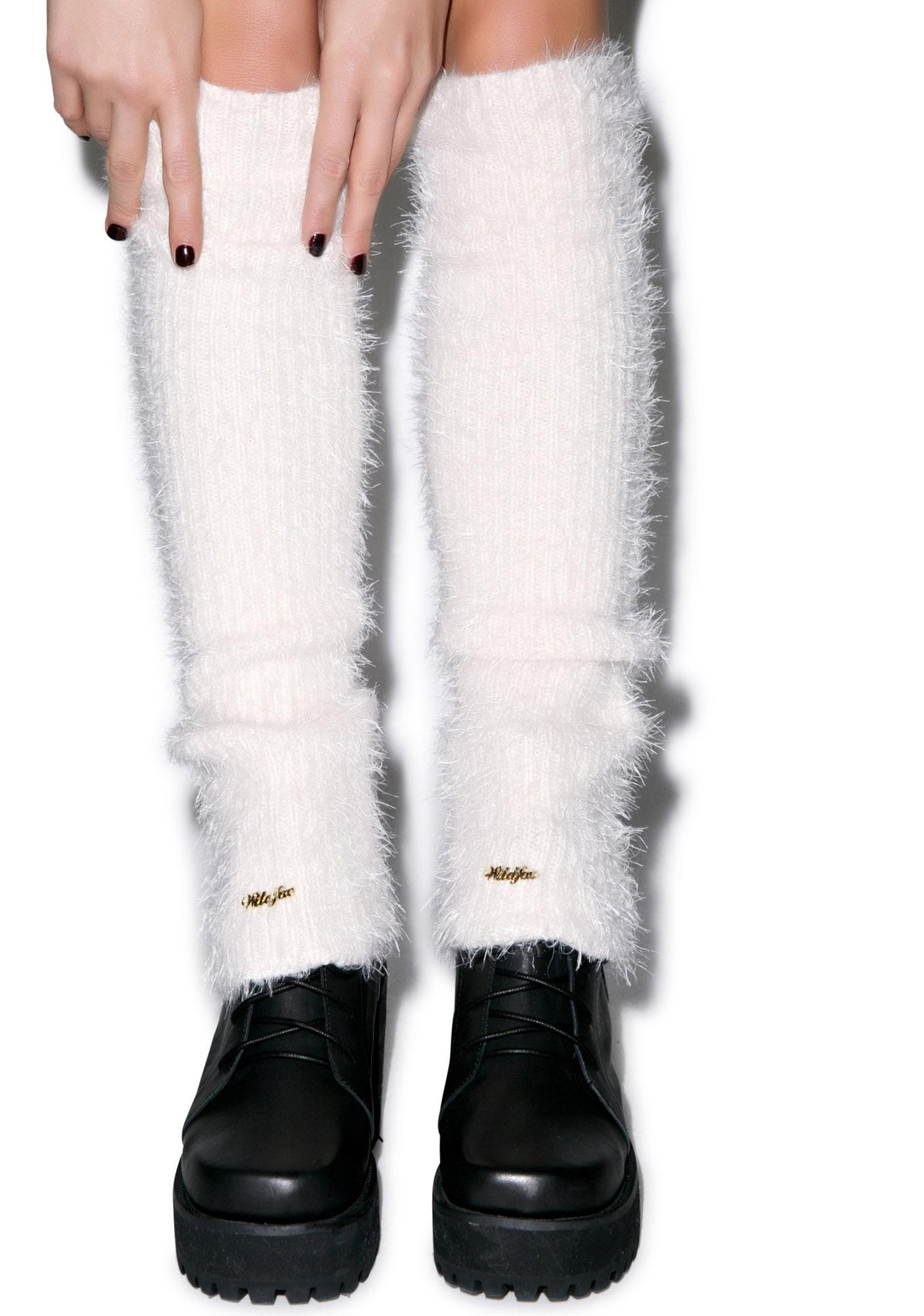 Wildfox Couture Loose Angora Leg Warmers