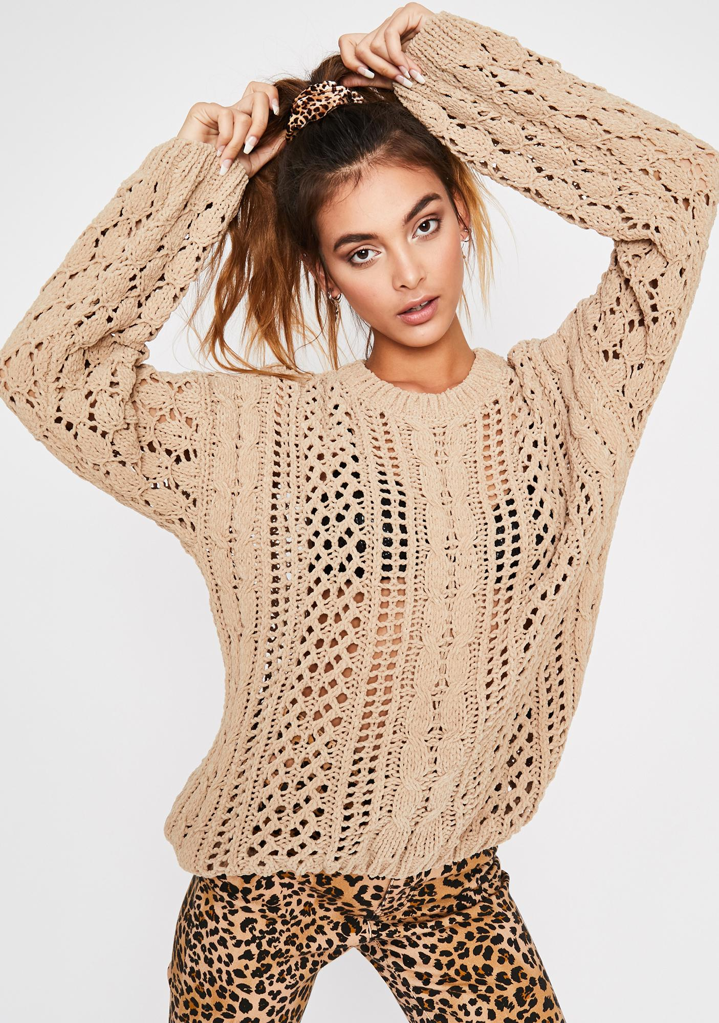 Fall For You Knit Sweater