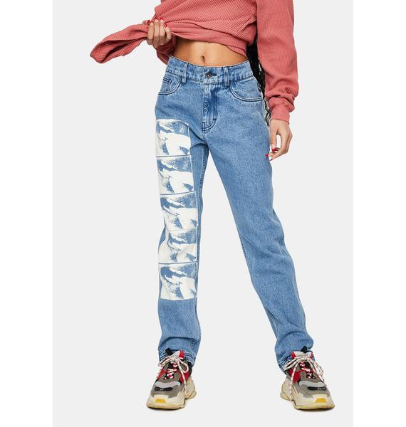 Pleasures Swallow Denim Jeans