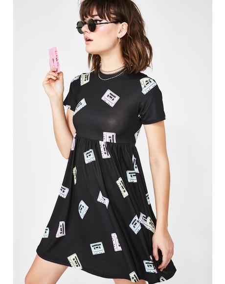 Mixtape Smock Dress