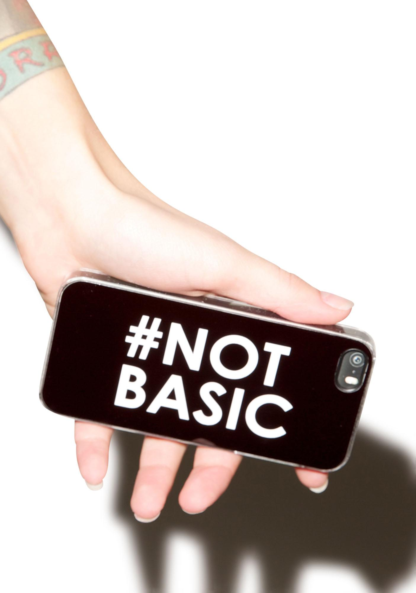 Zero Gravity #Not Basic iPhone 5/5S Case