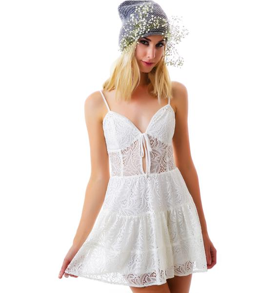 For Love & Lemons Baby Cakes Dress