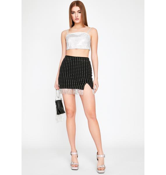 Celebrate Everyday Rhinestone Skirt