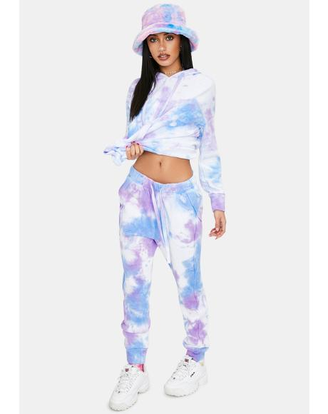 Work It Out Tie Dye Joggers