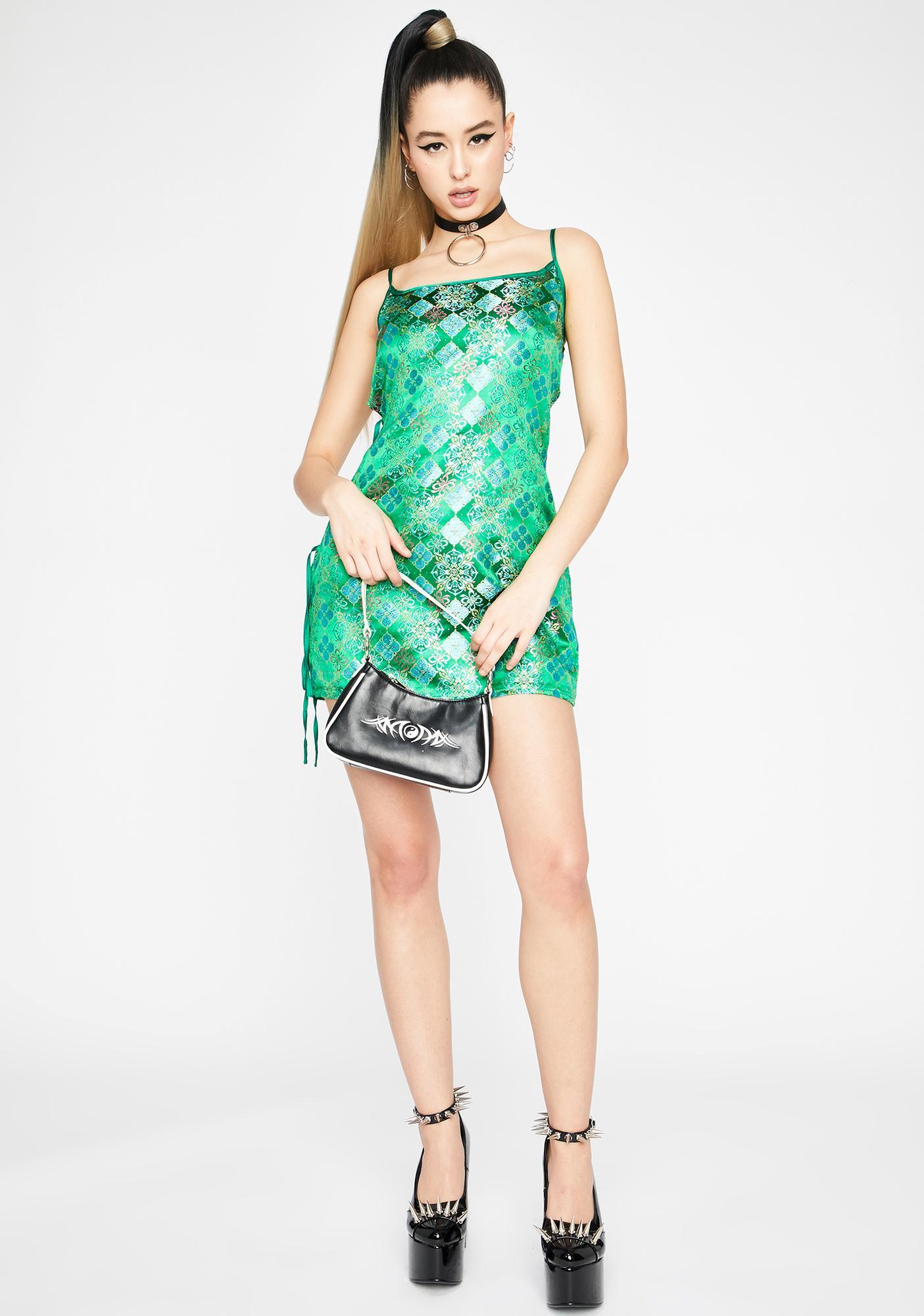 Ganja Sleepless Town Mini Dress