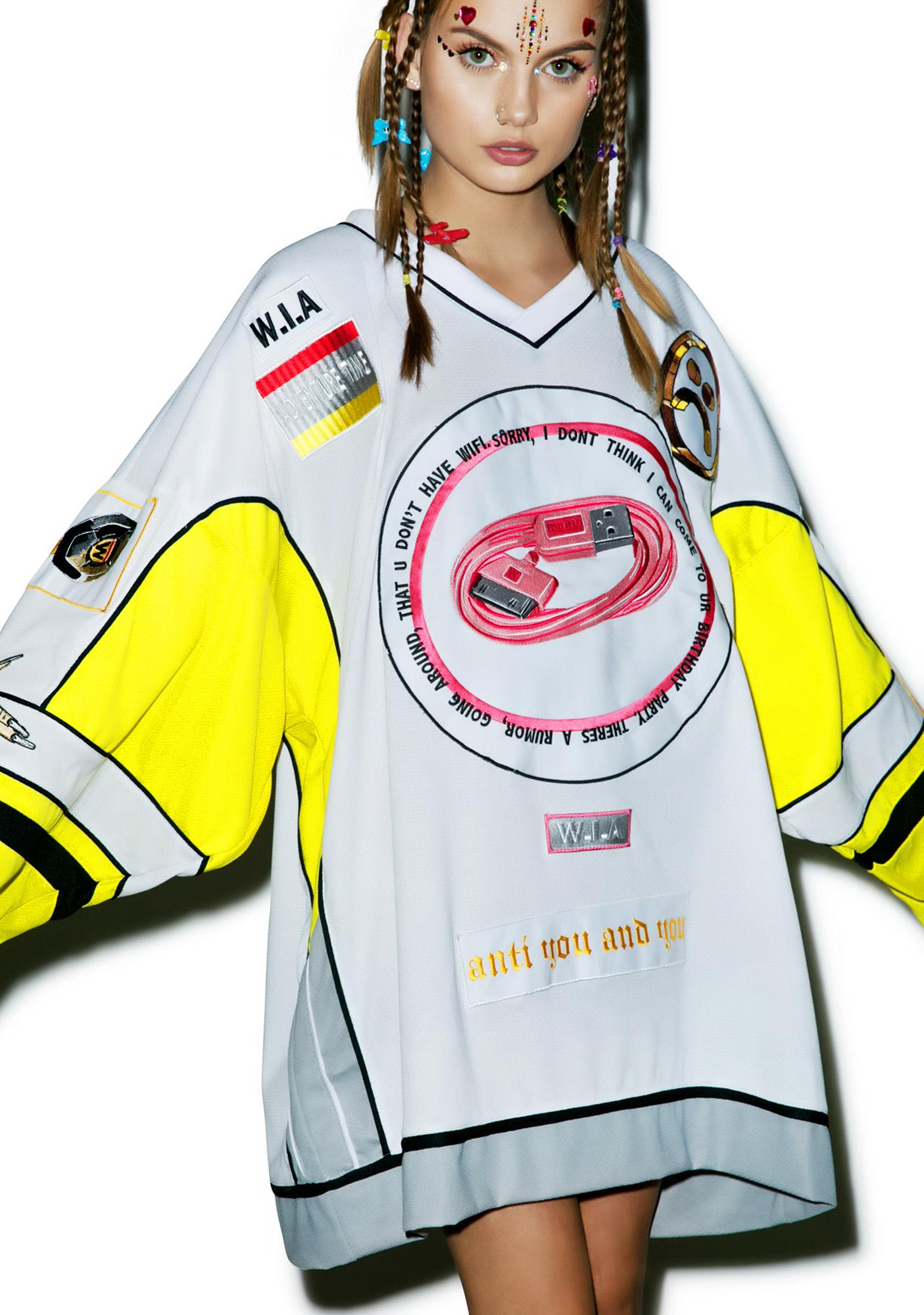 W.I.A Limited Edition USB Patch Jersey