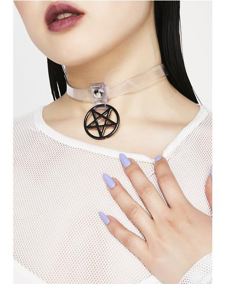 Cast A Spell Clear Choker