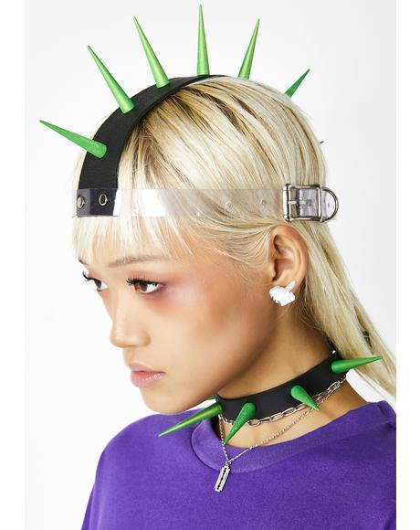 Get Spiked Mohawk Headpiece