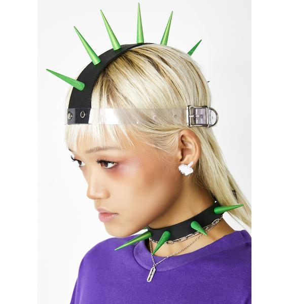 Get Spiked Mohawk Headpiece