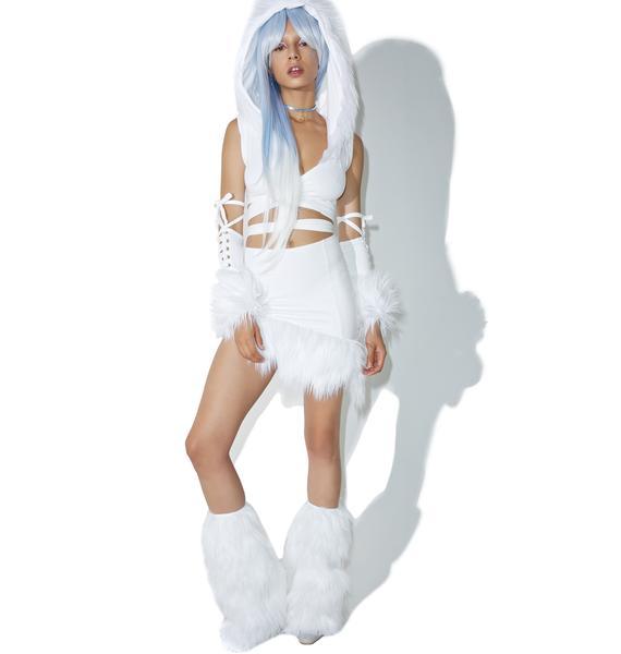 J Valentine Ice Queen Legwarmers