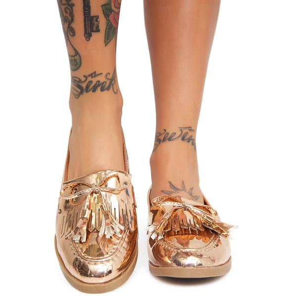 Golden Make A Move Loafers