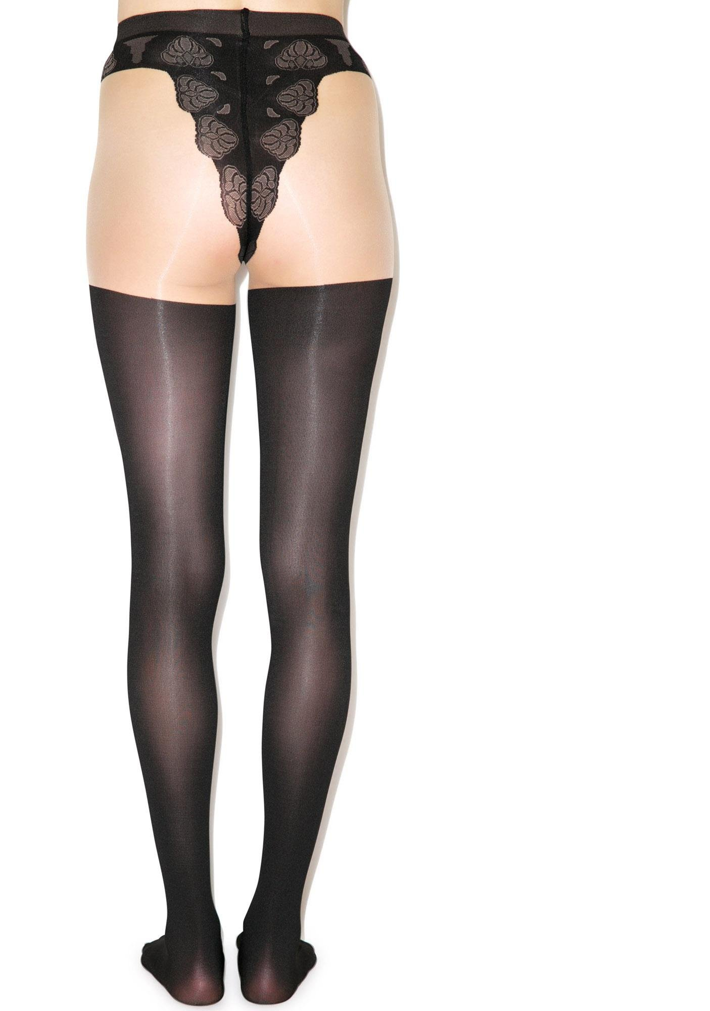 Pretty Polly Mock Over The Knee Super Tights