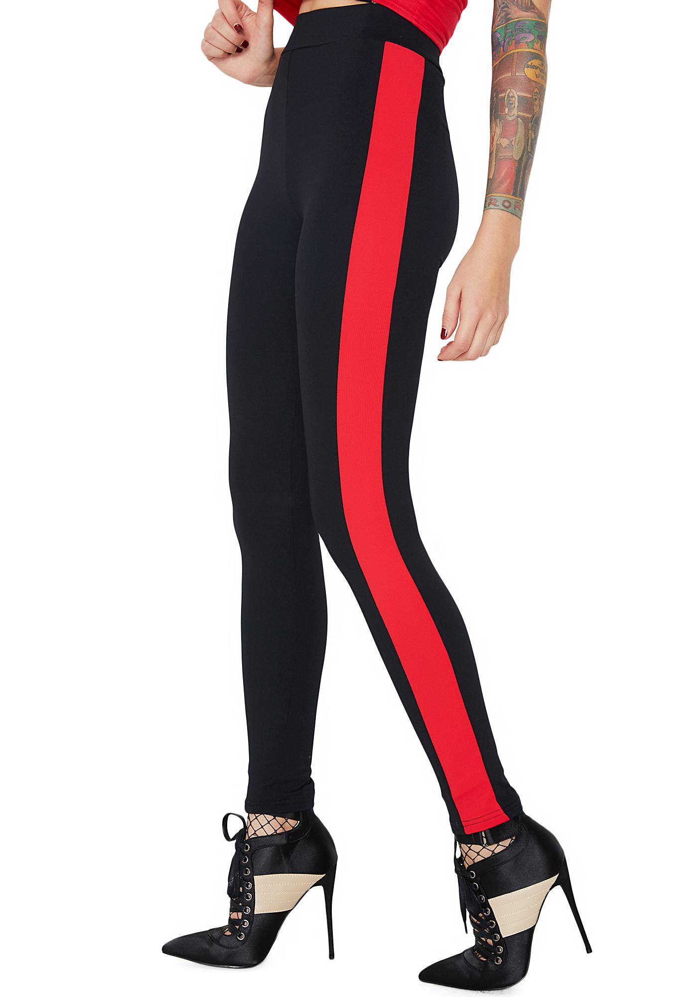 Fast Mover Stripe Leggings