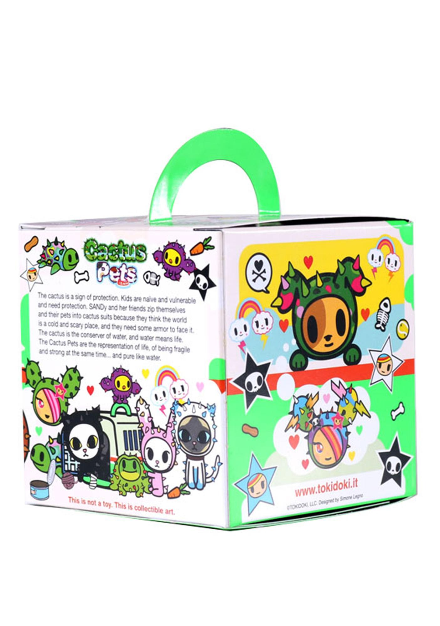 Tokidoki Cactus Pets Series 1 Blind Box