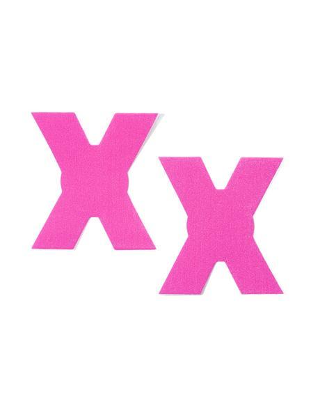 Neon Pink XXX Pasties