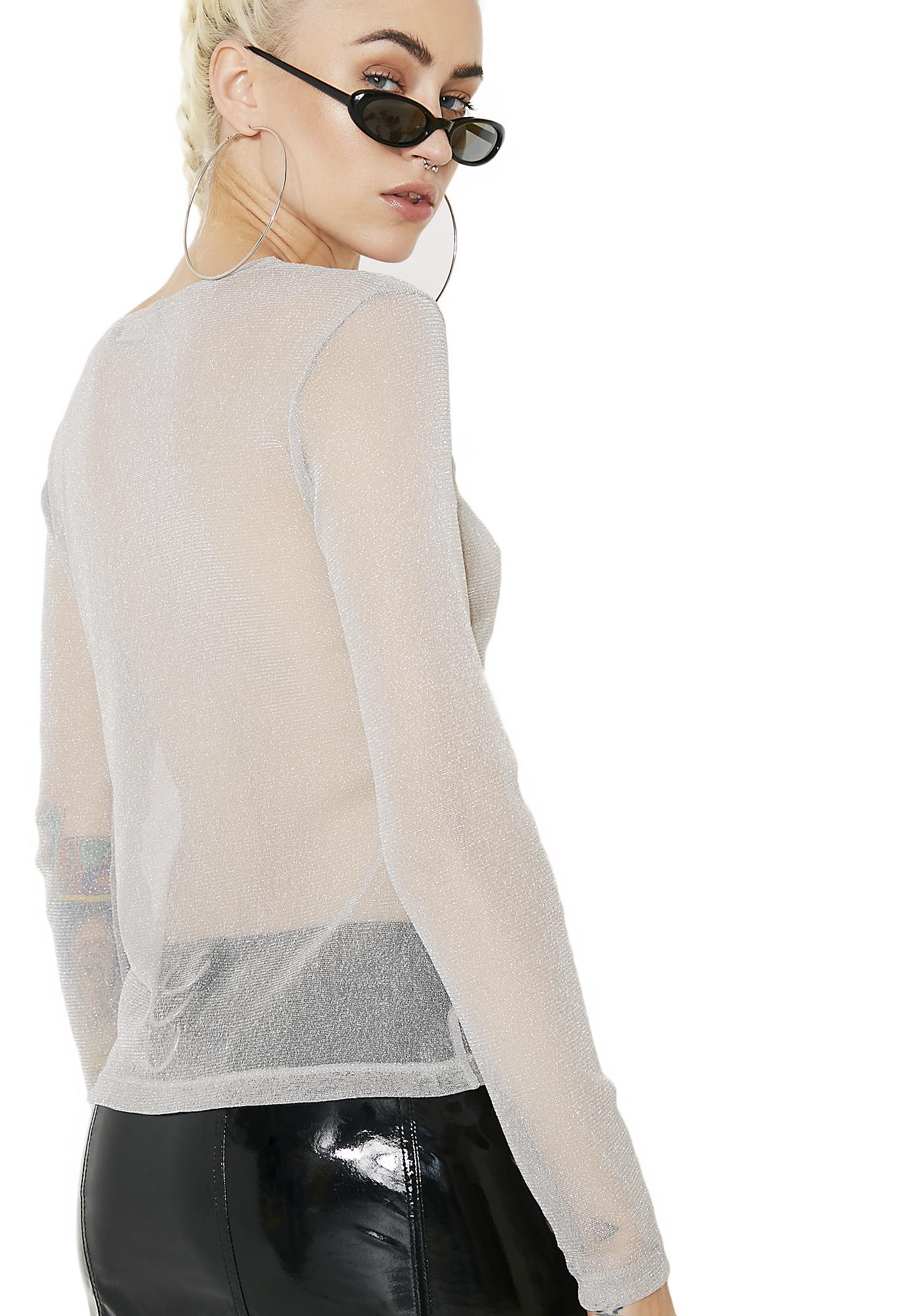 Motel Betina Mesh Top