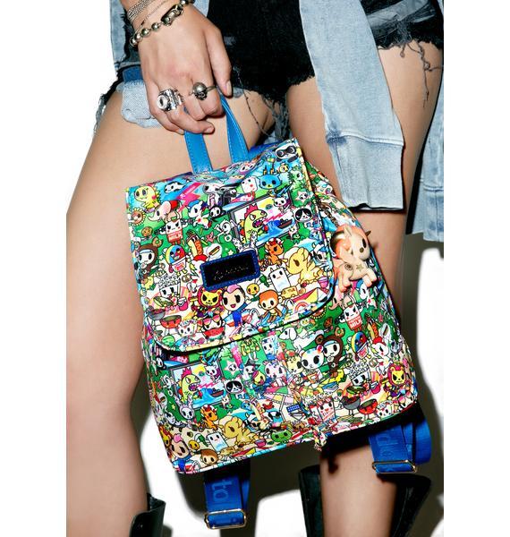 Tokidoki Summer Splash Backpack