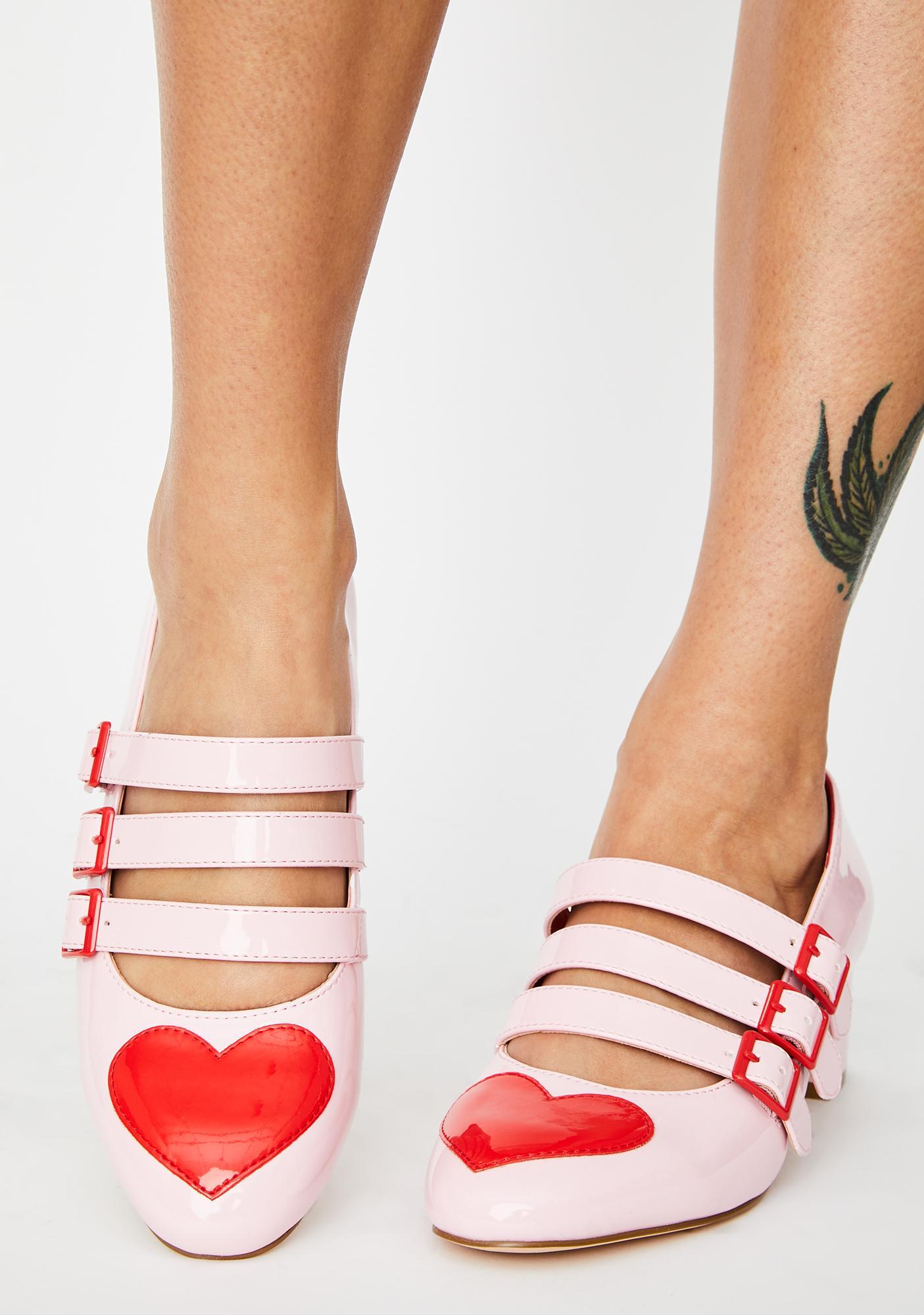 Strange Cvlt Patent Heart Block Heels