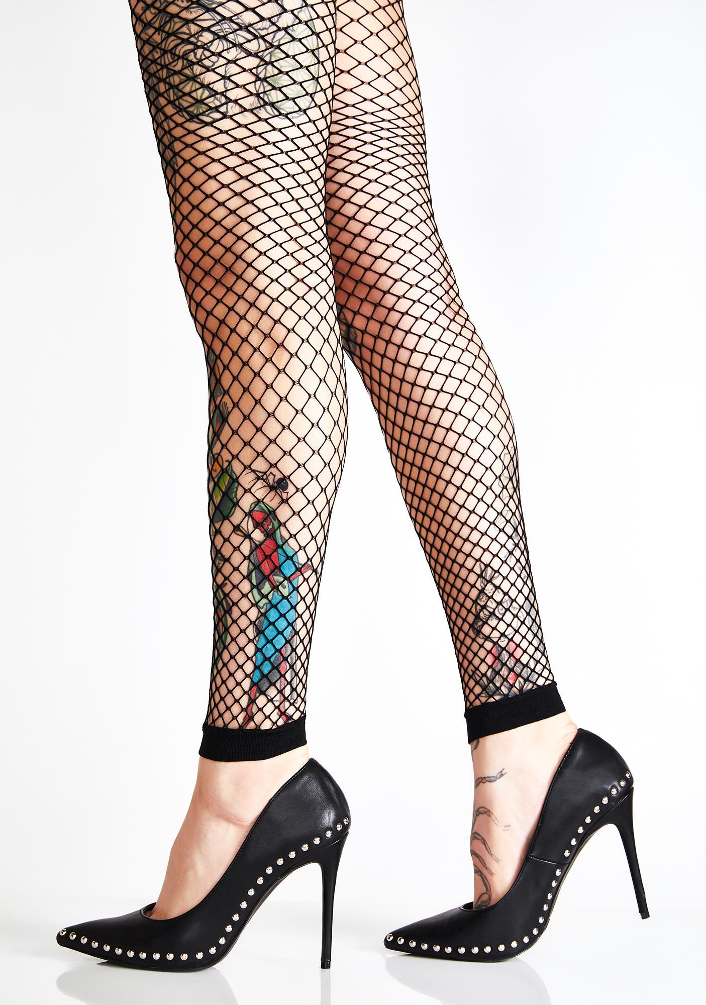 89e90b555d3cb Fishnet Leggings | Dolls Kill
