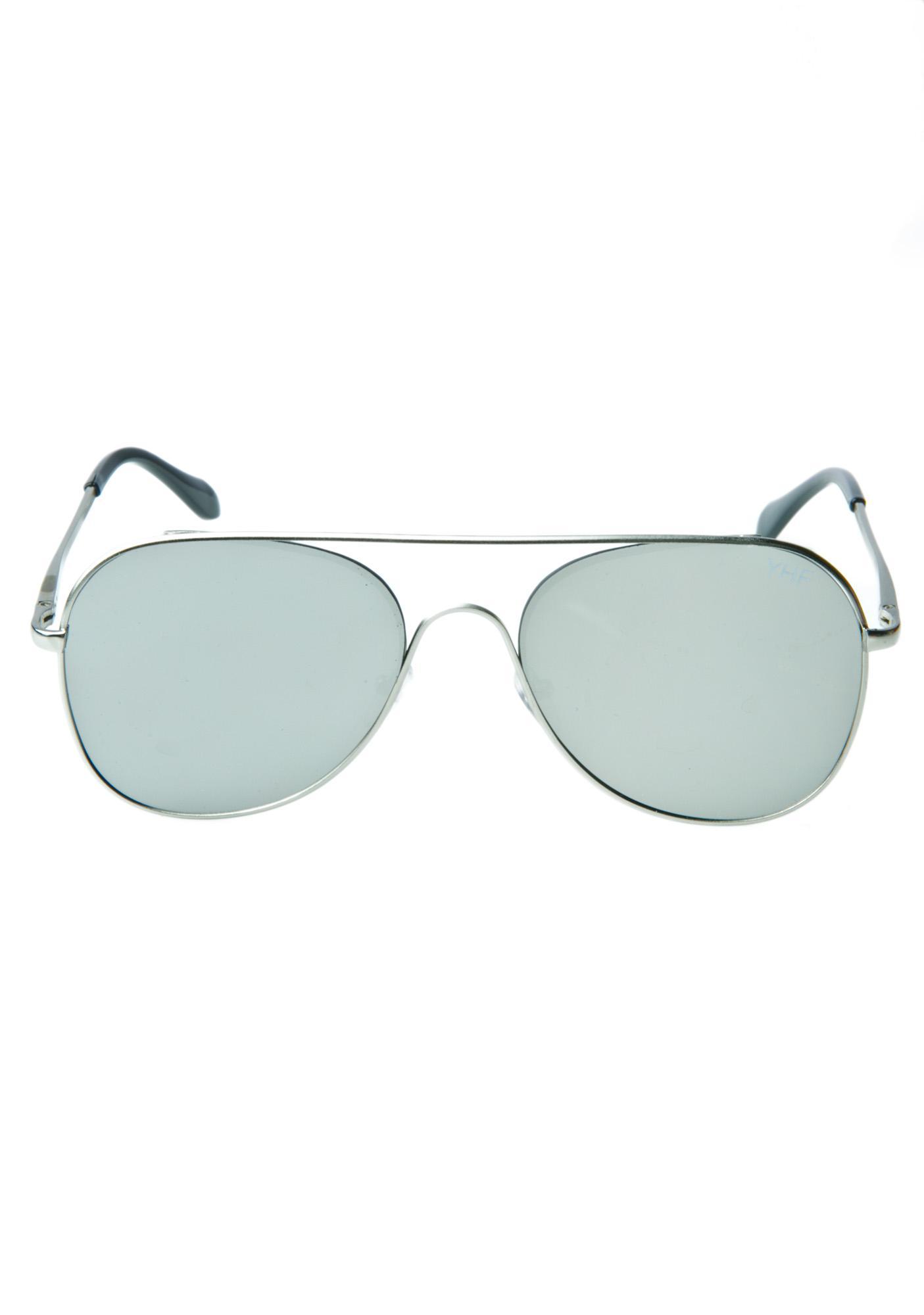 YHF Jenna Silver Sunglasses