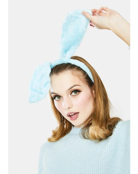 Powder Call Me Bunny Fuzzy Headband