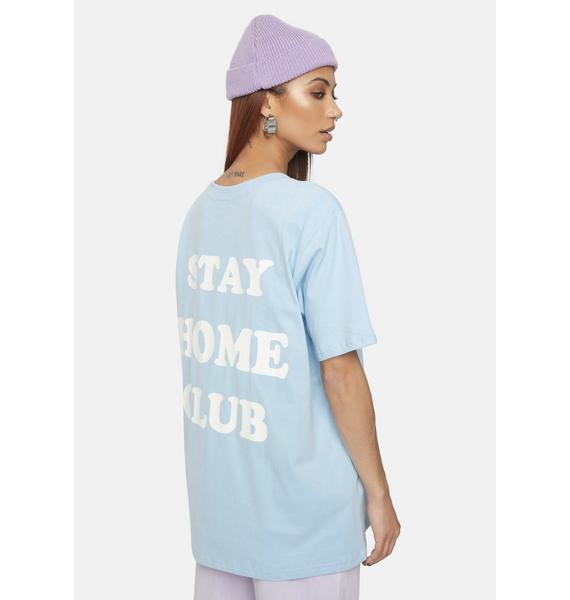 Bailey Rose Stay Home Club Graphic Tee