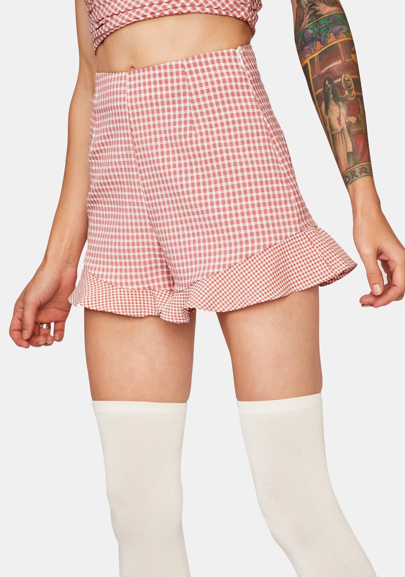 Blank NYC Petunia Shorts