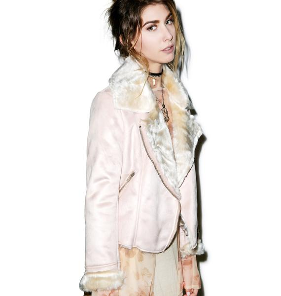 Glamorous Woman Of The Shear Shearling Jacket