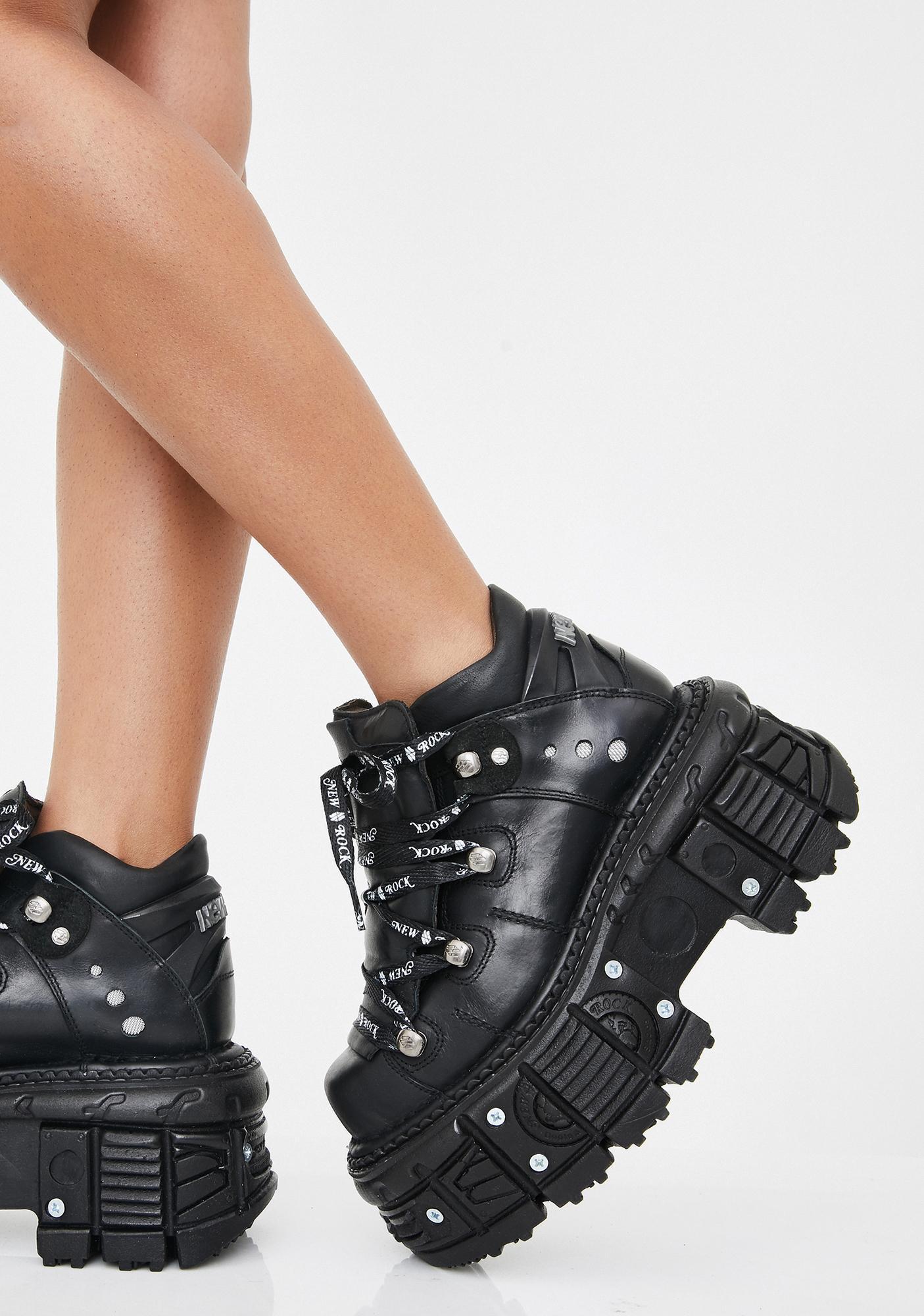 New Rock Renegade Reloaded Platform Boots