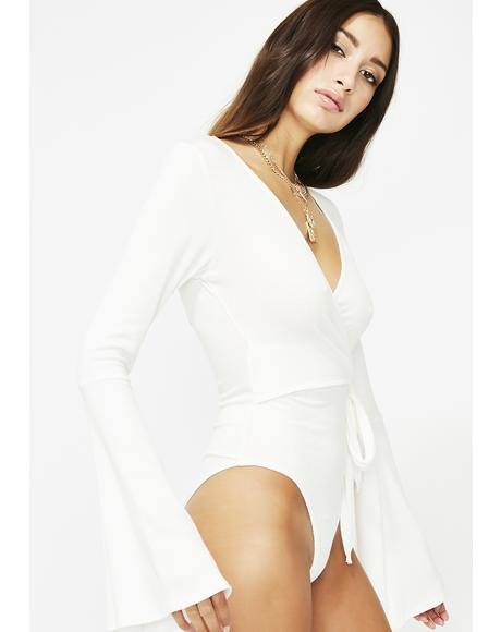 Come Correct Wrap Bodysuit